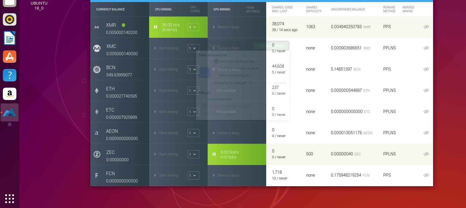 Mining Bitcoin on Ubuntu with MinerGate