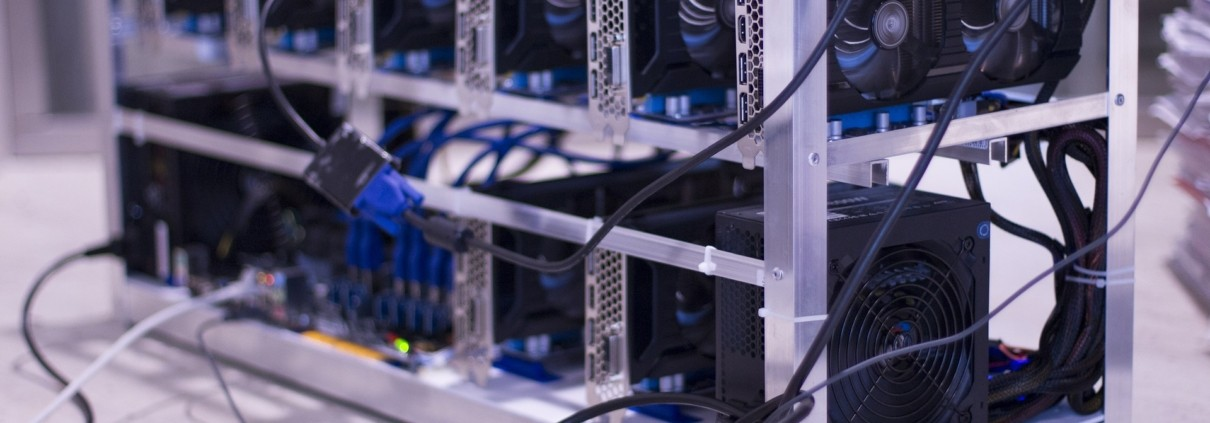 Mining Farm Photo - Bitcoin Mining Guide