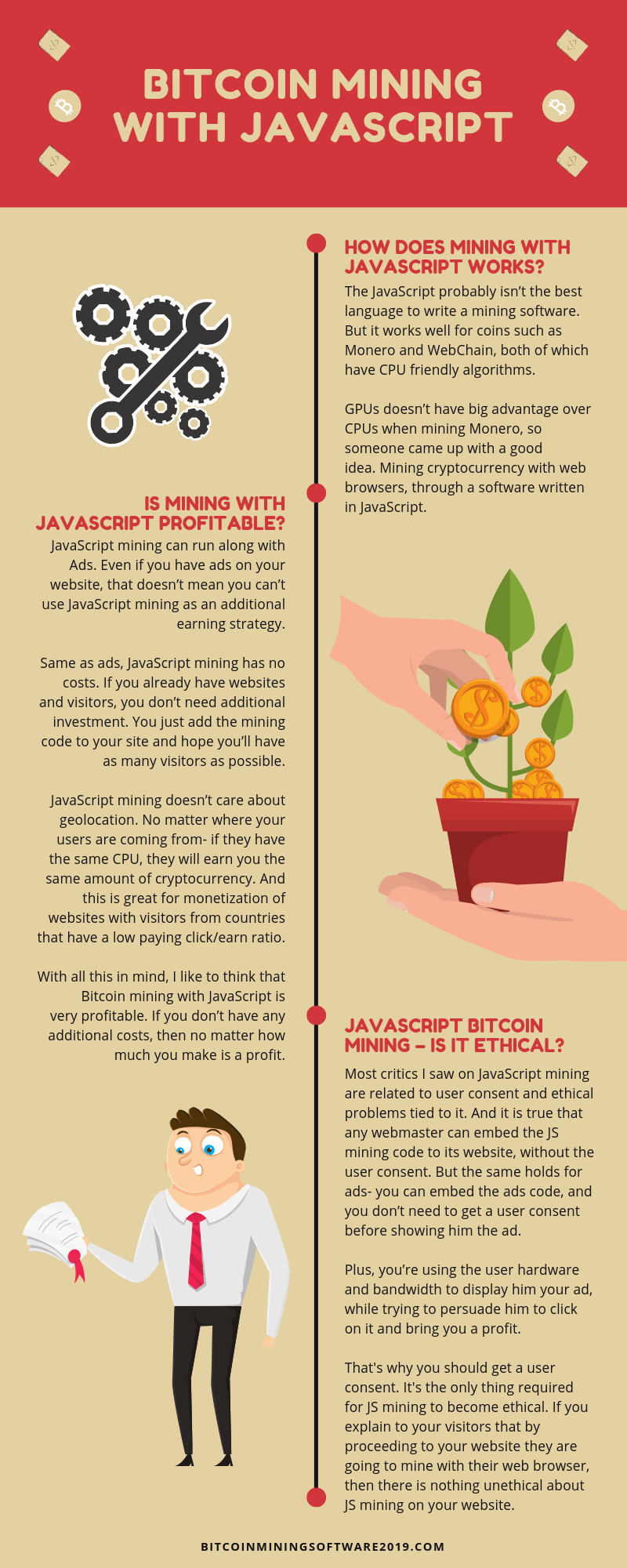 Bitcoin Mining JavaScript