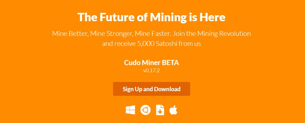 Cudo Miner Software - Mining on Windows 7 x64