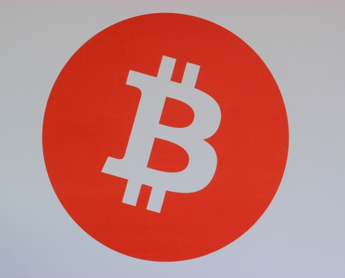 bitcoin logo red - best bitcoin mining software for 2020
